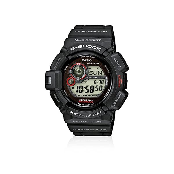 G-Shock G-9300-1ER - Reloj digital de caballero de cuarzo con correa negra 2