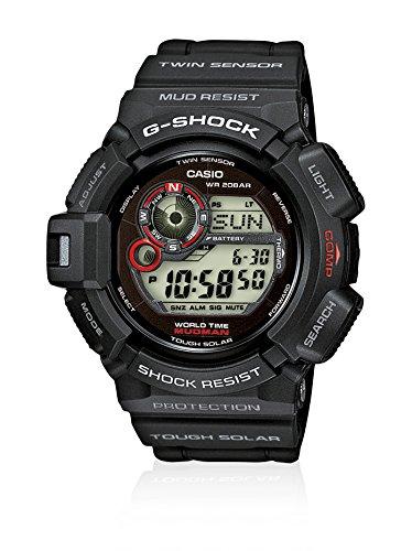 G-Shock G-9300-1ER - Reloj digital de caballero de cuarzo con correa negra 1