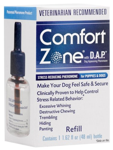 Comfort Zone with DAP for Dogs Diffuser Refill, 48 Milliliters, My Pet Supplies