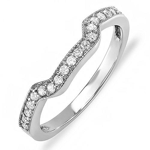 020-Carat-ctw-14k-White-Gold-Round-Diamond-Ladies-Anniversary-Wedding-Ring-Band-Enhancer-Guard-15-CT