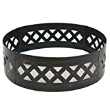 ZENY Heavy Duty 36 Inch Wilderness Campfire Ring Crossweave Style Backyard Camping Fire Ring
