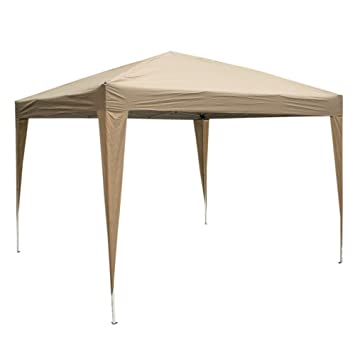 ZZZTDM Patio EZPop Up Canopy, 10 X 10 plegable portátil tienda de campaña