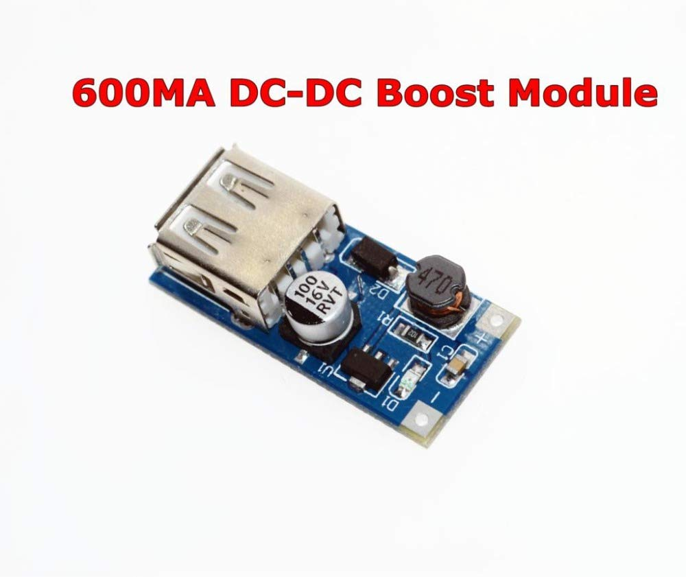 DC-DC USB Output Charger Step up Power Boost Module 0.9V ~ 5V to 5V 600MA USB Mobile Power Boost Board
