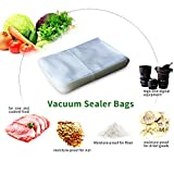Vacuum Sealer Bags,EALEK 100 Count Quart Size