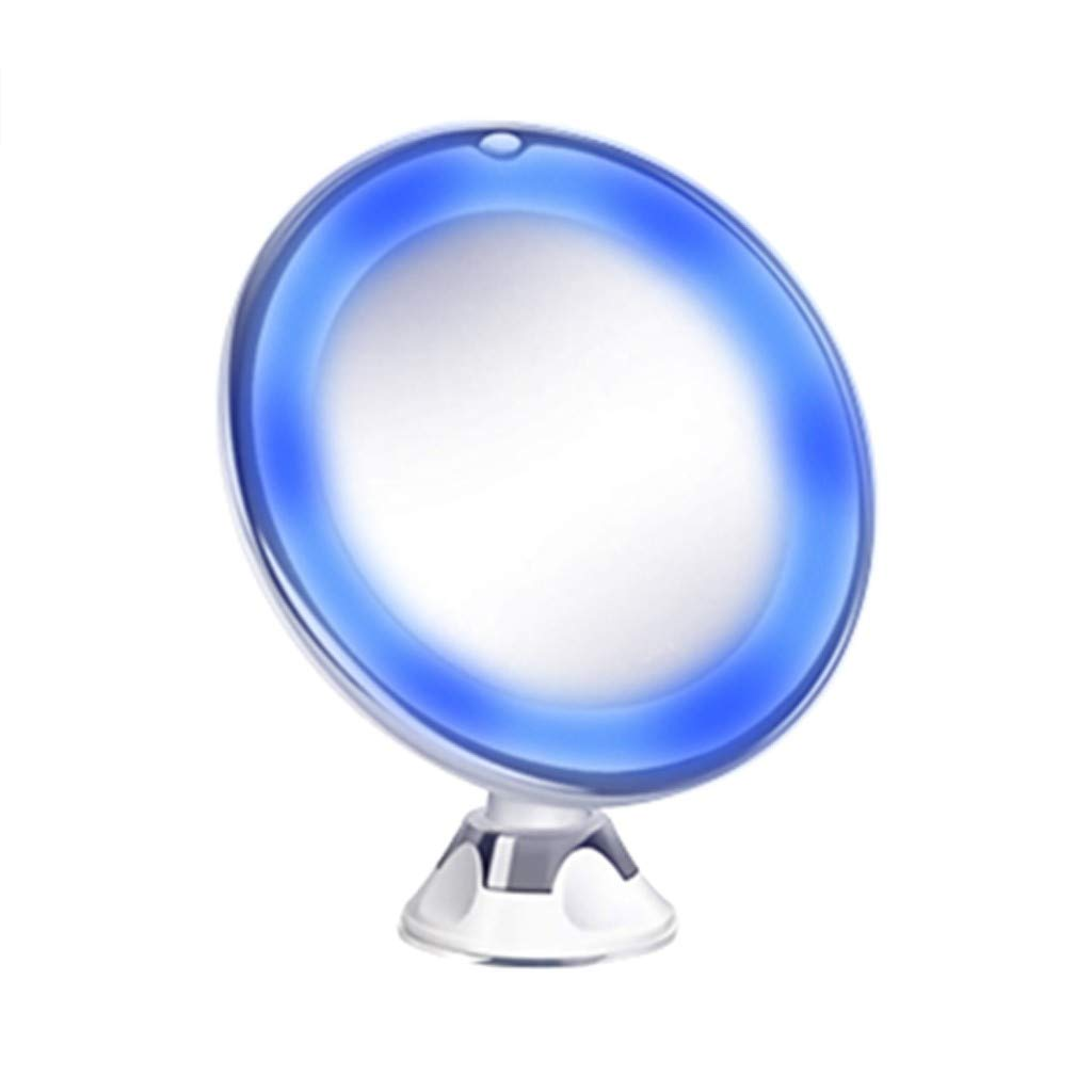ℬeauty Eve Flexible Mirror Lighted 10X Magnifying Makeup Mirror Power Locking Suction Cup