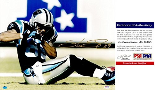 Autographed Steve Smith Photograph - 16x20 inch Authenticity Certificate of Authenticity COA) - PSA/DNA Certified ()