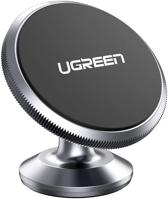 UGREEN Car Phone Holder Magnetic Dashboard Mobile Mount Dash Stand Compatible for iPhone 11 Pro Max SE XR XS X 8 7 6 Plus 6S, Samsung Galaxy S20 Ultra S10 S9 S8, Note 10 9 8, Google Pixel 4 3a XL