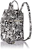 GUESS Varsity Pop Backpack, graffiti/pink