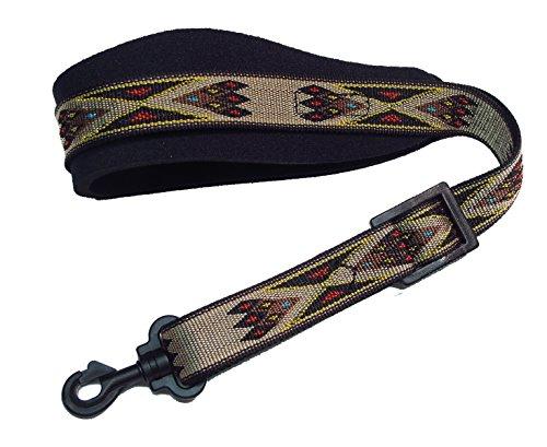 Legacystraps DSX Neoprene Padded Saxophone Strap Apache ()