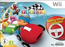 Pocoyo Racing + Wheel - Wii [French Import]