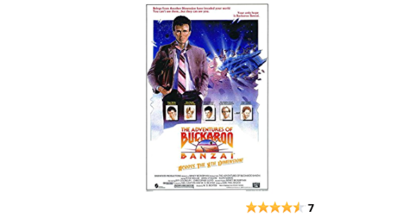 """Buckaroo Banzai Movie Poster Mini 11/""""X17/"""""""
