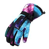 Ski Gloves, Lemonworld Snow Warm Gloves ...