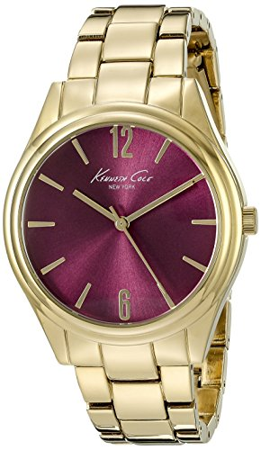 Kenneth Cole New York Women's 10021765 Gold Bracelet Watch