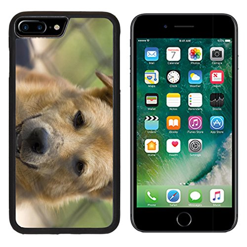 Price comparison product image MSD Premium Apple iPhone 7 Plus Aluminum Backplate Bumper Snap Case iPhone7 Plus Brown dog close up thai Image ID 23980006