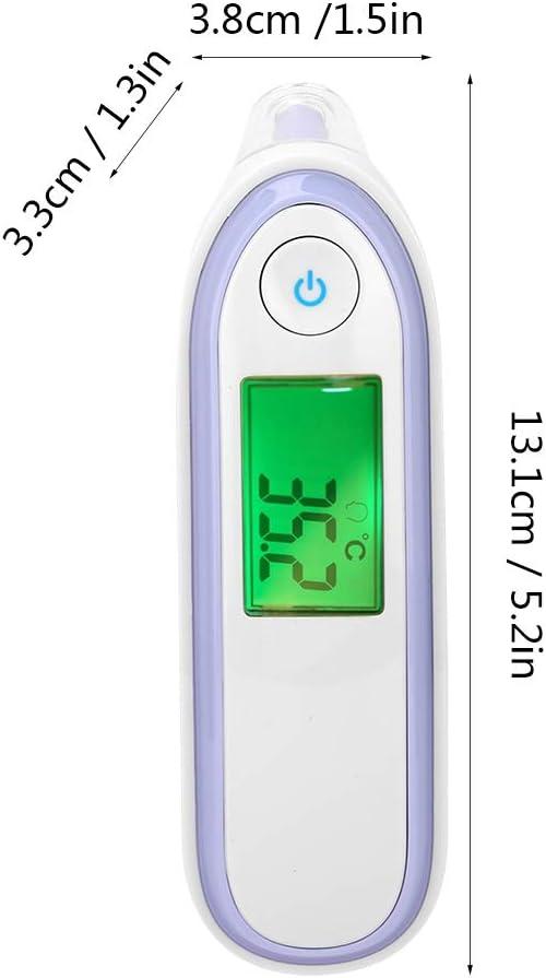 Thermom/ètre m/édical professionnel sans contact avec /écran LCD infrarouge num/érique pour tout-petits b/éb/és et enfants