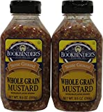 Bookbinders Whole Grain Mustard, 9.5 Ounce - 9 per case.