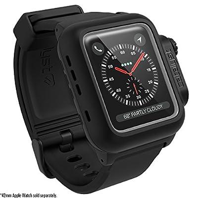 Catalyst case for 42mm Apple Watch Series 3 & Series 2 - Waterproof Shock Resistant (Stealth Black)