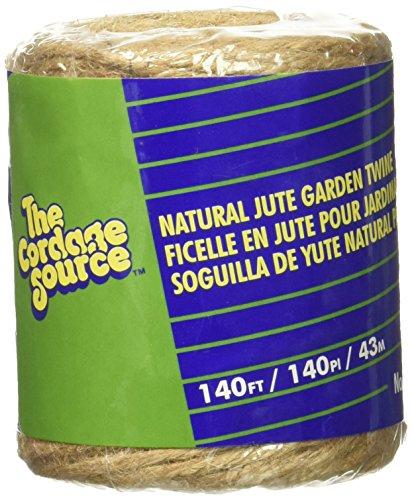 Cordage Source 1006 Jute Twine, 140-Feet, ()