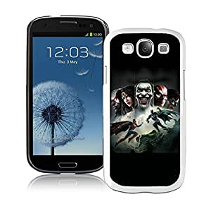 Customized Samsung Galaxy S3 Case Design with Injustice Gods Among Us White Case