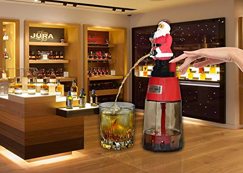BARRAID Santa Claus Liquor/Whisky/Wine/Vodka Dispenser/Decanter Battery Operated for Bar/Pubs/Party/Home (Capacity 500 ()