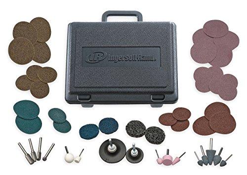 Ingersoll-Rand Die Grinder Accessory Kit, 50 Pc, w/Case - 23A-VAR-GR