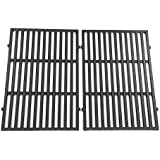 Relishfire Cast Iron Cooking Grid, Replacement for Weber Spirit 300 Series, Series 310, Series 320 Gas Grills, Set of 2