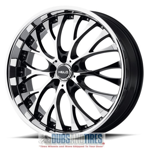 he890 gloss black wheel with painted finish