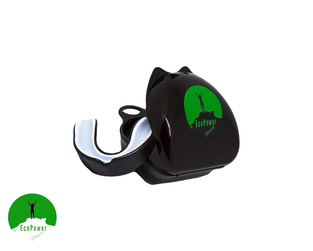 Lacrosse Judo- Mouldable /& Very Comfortable. Muay Thai EcoPower Sports Gumshield//Mouthguard For Any Contact Sport- including Boxing Karate Hockey Capoeira UFC Rugby
