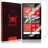 Nokia Lumia 520 Screen Protector, Skinomi TechSkin Full Coverage Screen Protector for Nokia Lumia 520 Clear HD Anti-Bubble Film