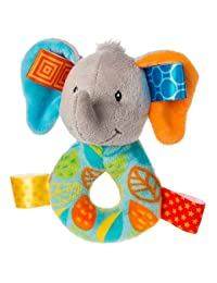 Taggies Little Leaf Elephant Rattle BOBEBE Online Baby Store From New York to Miami and Los Angeles