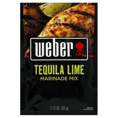 Weber Grill Tequila Lime Marinade Mix, 1.12-ounce (Pack of 4) by Weber