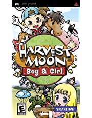 Harvest Moon Boy and Girl - PlayStation Portable
