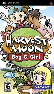 Amazon Com Harvest Moon Boy Girl Sony Psp Video Games
