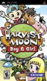 Harvest Moon: Boy & Girl - Sony PSP