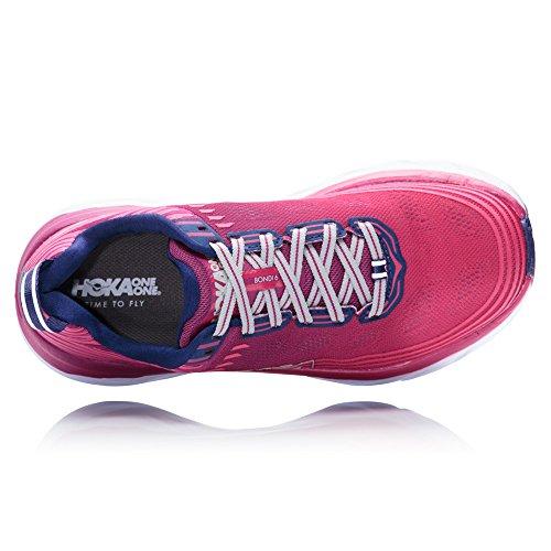 Hoka Shoes Running Women Depths One Laufsport 6 Schuhe Boysenberry 2018 One Bondi Blue SSXpr
