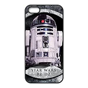 iphone5 5s phone cases Black Star Wars R2D2 cell phone cases Beautiful gifts PYSY9385015