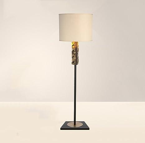Zhdc Semplice Lampada Da Terra Moderna Acciaio Inox Lampade Da