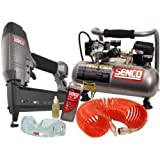 portable air compressor combo kit - Senco PC0947 18-Gauge Brad Nailer Compressor Combo Kit