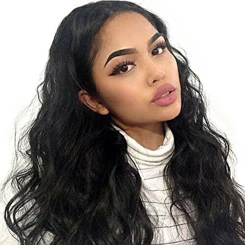 9A Body Wave Wig Human Hair Lace Front Wigs 16inch Pre Plucked Lace Frontal Wig With Baby Hair 130% Density Unprocessed Human Hair Wigs For Black Women