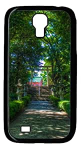 Samsung Galaxy S4 Case and Cover - Walking Towards The Shinto Shrine PC case Cover for Samsung Galaxy S4 SIV I9500-Black