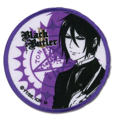 Black Butler 2 Sebastian Patch