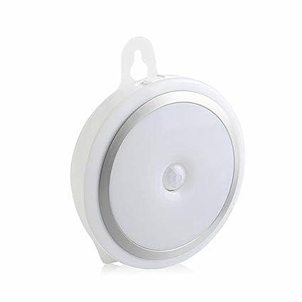 AZNOI Luz LED de Noche con Sensor de Movimiento, USB Recargable, 3 Modos (