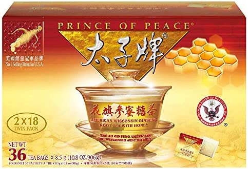 Prince Peace%C2%AEAmerican Ginseng Honey sachets product image
