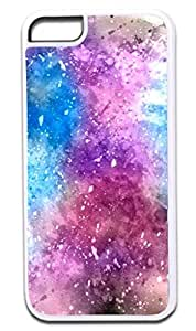 Abstract Vibrant Watercolors-2- Hard Plastic Case in White- for the Apple Iphone 6 Only (Not compatible with the iPhone 6 Plus)