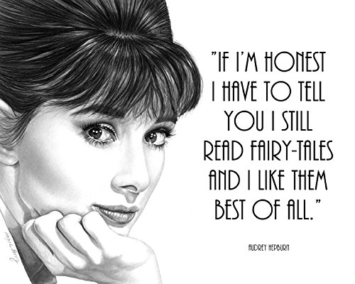 audrey-hepburn-quote-vintage-hollywood-8x10-art-print-by-wendy-hogue-berry