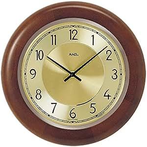 Reloj de pared moderno con mecanismo a cuarzo de ams am - Reloj de cocina moderno ...