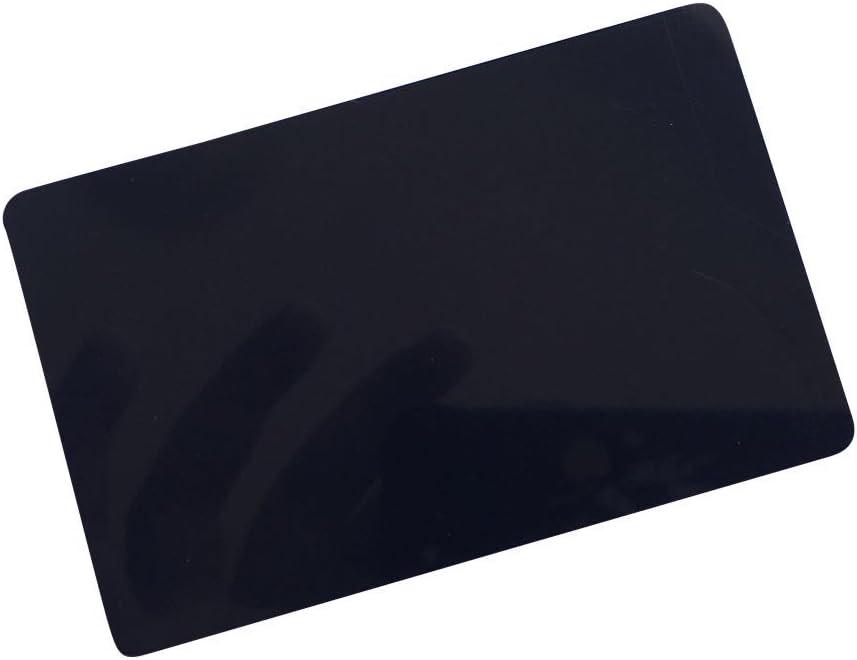 13.56 MHz X 10 YARONGTECH MIFARE Classic/® 1K Schl/üssel Schwarz Farbe PVC Karte