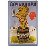 Weißbier Bier Germany Beer Reklame Blechschild 20x30 Metallschild 452
