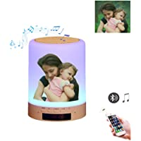 Luz de foto personalizada Lámpara Altavoz Bluetooth Wireless
