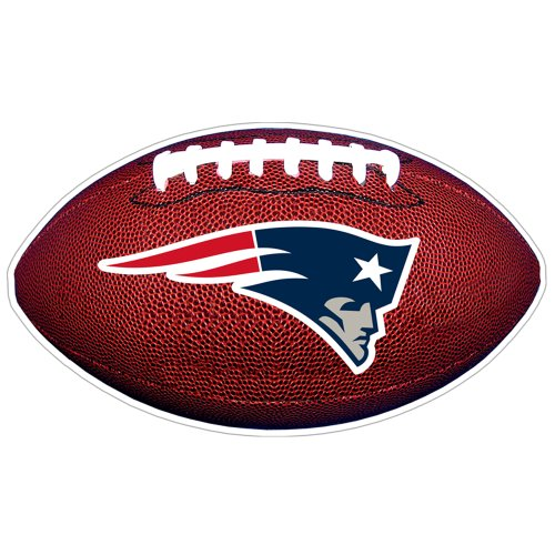 NFL New England Patriots 3D Football Magnet (Pack of 2)